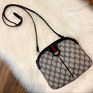Gucci Web Vintage Ophidia Monogram Crossbody